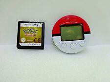 Nintendo DS Pokemon HeartGold Version Italian NTR-IPKI-ITA Game with Pokewalker