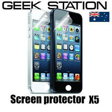 for iPhone 5 5G Screen protector for Apple iPhone 5s 5c NEW x5