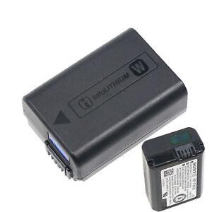 Genuine Sony NP-FW50 1020mAh Battery For Sony NEX3 NEX-5 NEX-3 A55 A33 BCVW1
