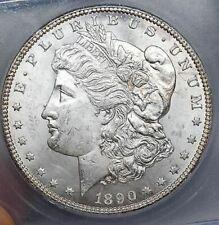 1890 CC - MS63 - Morgan Silver Dollar - Blast White