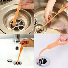 DRAIN SNAKE CLOG REMOVER HAIR REMOVAL CLEANING TOOL Plumbing Pipe Sewer - LD