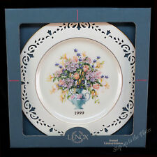 Lenox China Connecticut 1999 Colonial Bouquet Collector Plate 5th Mib