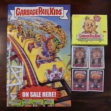 TOPPS 2003 THE LOST 16TH BOX  POSTER A&B BASE, FOIL, GARBAGE PAIL KIDS.