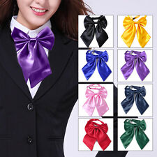 Women Ladies Girls Fashion Style Bow Knot Neck Tie Cravat Casual Party Banquet