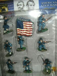 Conte collectibles A C W union iron brigade mint in box painted 2003 in 8 poses