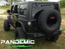 2007 Jeep Wrangler JK JKU 2 & 4 Door LED Taillight Conversion Kit W/ Clear LEDs