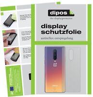 6x OnePlus 8 arrière Film de protection d'écran protecteur antireflet dipos