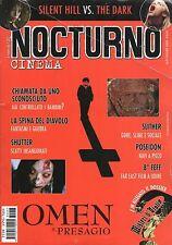 rivista NOCTURNO CINEMA ANNO 2006 NUMERO 47 OMEN IL PRESAGIO