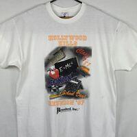 Vintage Hollywood Hills Class Of 97 Reunion T Shirt XL 90s Florida High School