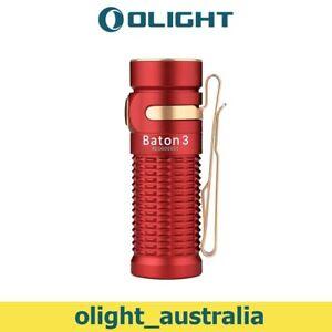 OLIGHT Baton 3 Pocket Torch 1200 lumens Compact Torch Flashlight for Camping