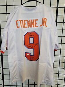 Travis Etienne Jr Autographed Jersey JSA Certified Clemson Tigers Steelers