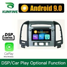 Android 9.0 Octa core car lettore DVD stereo navigazione per Hyundai Santa Fe 06
