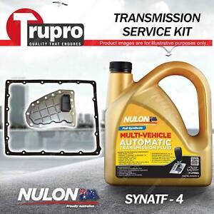 Nulon SYNATF Transmission Oil + Filter Service Kit for Holden Rodeo TF RA 3.0 TD