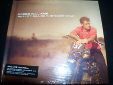Robbie Williams Reality Killed The Video Star Hard Book CD DVD Edition - New