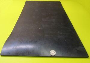 "SBR Rubber Sheets, Black, 1/4"" x 12"" Wide x 24"" Length, 60 Shore A, 1000 PSI"