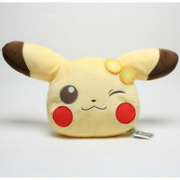 "20"" Banpresto Pokemon Life Picnic Pikachu Cushion Pillow Plush Stuffed Toys Doll"