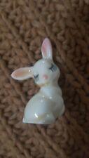 Miniture Cute Kitsch Rare Vintage Bunny Ornament