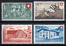 Schweiz 471-74 **, Pro Patria 1946