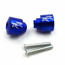 Fit For CBR 250 600 900 929 954RR 1100 RR CBR1100XX RC51 Blue Hand Bar Ends