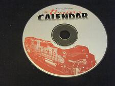 Charles Ditlefsen's Trains Calendar (PC, 1995) - Disc Only!!!!