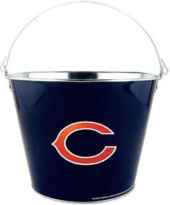 Chicago Bears Beer Bucket Metal 2-Sided