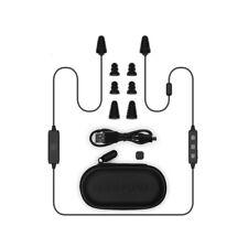 Plugfones Liberate 2.0, Wireless Bluetooth Earplug Headphones, Black Gray