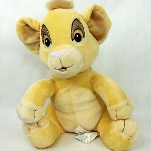 The Lion King Simba baby cub plush soft toy doll Disney