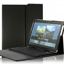 Funda de Cuero Teclado Bluetooth integrado Samsung GT-N8000 Galaxy Note 10.1