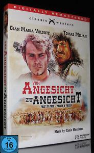 DVD VON ANGESICHT ZU ANGESICHT - ITALO- WESTERN - Musik: ENNIO MORRICONE * NEU *