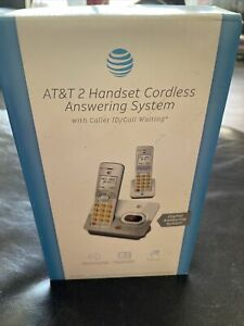 AT&T EL52203: 2 Handset Cordless  Answering System w/ Caller ID & Call Waiting