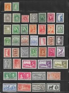 MD Canada and Areas, old stamps mint selection in 2 pictures No2