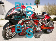 INJECTION Fairing W6 With Tank Seat Cowl Kit Fit GSXR1300 Hayabusa 2008-2017 42