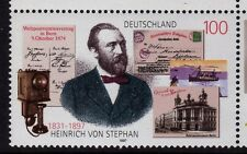 Germany 1997 Heinrich von Stephan, Postmaster SG 2764 MNH