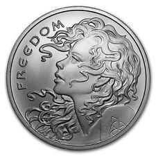 1 - 1 oz .999 Silver Round - 2018 Freedom Girl - Silver Shield BU