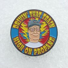 Hank Hill Casey Jones pin -Grateful Dead Company Co king of the hill propane 420