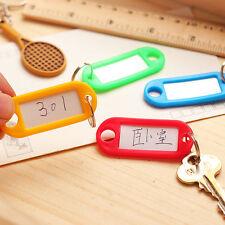 30X X Schlüsselschilder Schlüsselanhänger zum-Beschriften Bunt