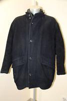 luxueux manteau laine marine homme HUGO BOSS punga taille 50