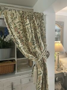 John Lewis William MORRIS & CO Fruits Vintage Arts & Crafts Curtains