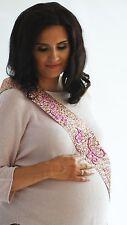 Mamá A Ser Sash-Brillo Oro Rosa con letras de color de rosa caliente-Baby Shower