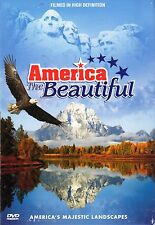 AMERICA THE BEAUTIFUL VIRTUAL HD NATIONAL PARKS DVDs+CD 5-Disc Collectors Ed Tin