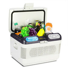 Hot 12L Mini Portable Dual-core Refrigeration Fridge Truck Car Home Cooler Box