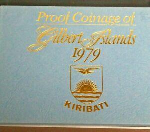 1979 Kiribati Proof Coinage of Gilbert Islands  7 Coin Set -