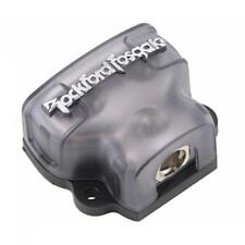Rockford Fosgate RFD4 1/0 AWG 4 AWG Solid Brass Distribution Block