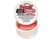 CAIG Laboratories DeoxIT D50W Contact Cleaner 100% solution, 50 Wipes