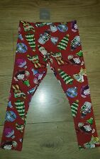 NEXT girls' CHRISTMAS leggings size 5 years NEW FREE P&P