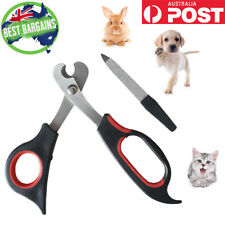 Dog Nail Clipper Cutter Scissor Trimmer Cat Rabbit Stainless Steel Nail Clipper