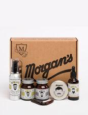 Morgans Moustache & Beard Wax Cream Wash Oil Shampoo Styling Comb Gift Set