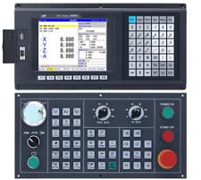 4 axis CNC milling controller ,Support absolute, G code control panel ATC PLC ,