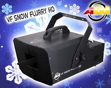 ADJ American DJ VF Neige Flurry HO 1250 Watt Mobile DMX neige / neige Machine