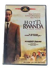 Hotel Rwanda (Dvd, 2004, Widescreen)